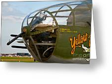 Mitchell Bomber Greeting Card