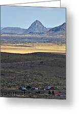 Miter Peak Greeting Card