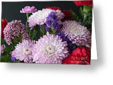 Mixed Bouquet Greeting Card
