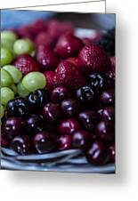 Mixed Fruit Greeting Card