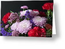 Mixed Posies Greeting Card