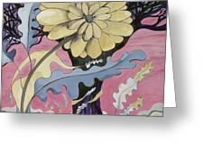 Miz Fleur Greeting Card