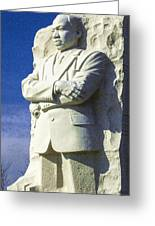 Mlk 5211 Colored Photo 1 Greeting Card