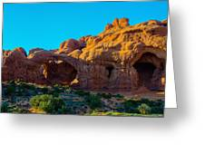 Moab Arches Twist Greeting Card