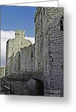 Moat And Bridge Greeting Card