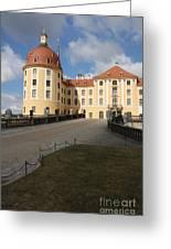Moated Castle Moritzburg Greeting Card