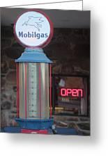 Mobilgas Greeting Card