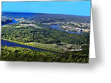 Moccasin Bend Greeting Card