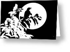 Mockingbird Moon Greeting Card