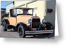 Model A Ford Truck Greeting Card