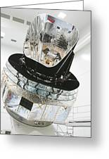 Model Of Planck Space Observatory Greeting Card