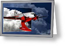 Model Planes Dc3 01 Greeting Card