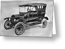 Model T Ford (1921) Greeting Card