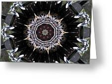 Model T Kaleidoscope Greeting Card