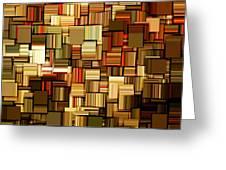 Modern Abstract Xxiii Greeting Card