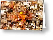 Modern Abstract Xxvi Greeting Card