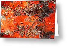 Modern Abstract Xxx Greeting Card