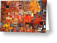 Modern Abstract Xxxi Greeting Card