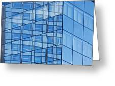 Modern Architecture Abstract Greeting Card