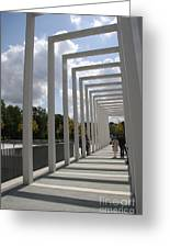 Modern Archway - Schwerin Garden -  Germany Greeting Card