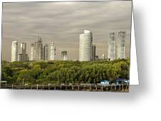 Modern Buenos Aires Greeting Card