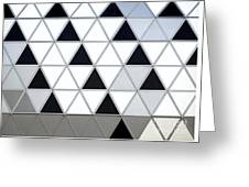 Modern Building Facade Detail Greeting Card