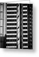 Modern Buildings Abstract Architecture Greeting Card