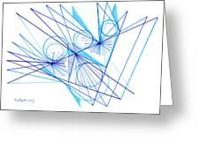 Modern Drawing Eighty-eight Greeting Card
