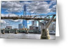 Modern London Greeting Card