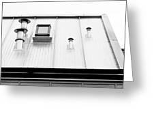 Modern Roof Greeting Card