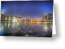 Modern Skyline  Greeting Card by Nathan Wright