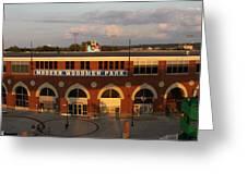 Modern Woodmen Stadium Greeting Card