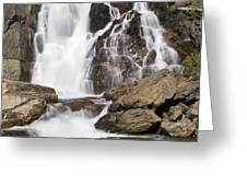 Modjesku Falls Greeting Card