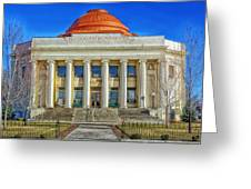 Modoc County California Courthouse Greeting Card