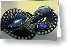 Moebius Strip Greeting Card