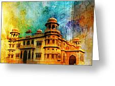 Mohatta Palace Greeting Card by Catf