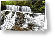 Mohawk Falls Greeting Card