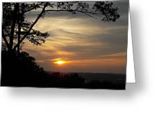 Mohawk Sunset Greeting Card
