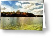 Mohegan Lake 3 Greeting Card
