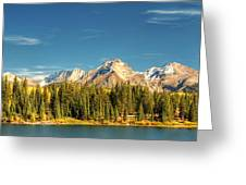 Molas Lake And The Needles Pan 1 Greeting Card
