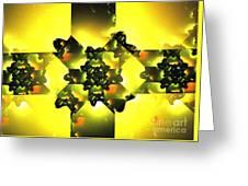 Moldavite Greeting Card