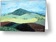 Mole Hill - Sold Greeting Card by Judith Espinoza