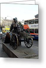 Molly Malone Greeting Card