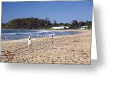 Mollymook Beach On The South Coast Of New South Wales Australia Greeting Card