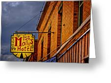 Miss Molly's Hotel Greeting Card