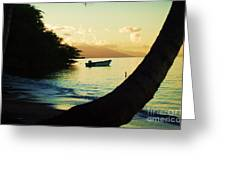 Molokai Beach Greeting Card