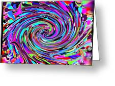 Molten Color Greeting Card