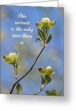 Moment In Time Greeting Card