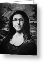 Mona  Greeting Card