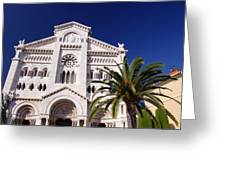 Monaco Cathedral Greeting Card